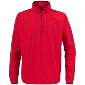 Mens Tikker Fleece Red