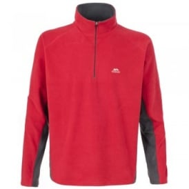 Mens Tron Overhead Fleece Red