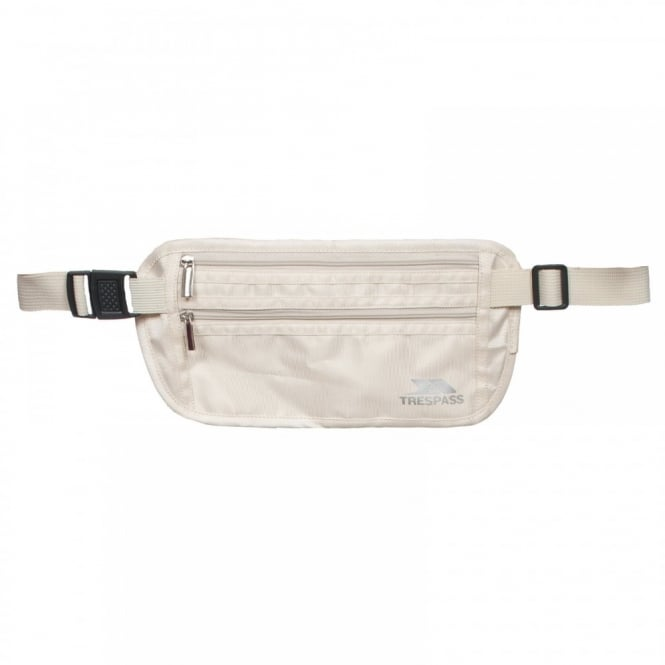 Trespass Safeguard Money Belt Parchment
