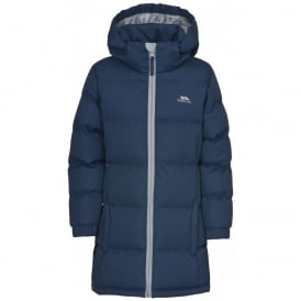 Tiffy G Long Coat - Navy