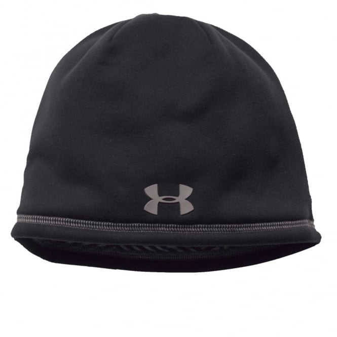 Under Armour Mens UA Elements Beanie Black Tan Stone - Mens from ... 219960c89b0