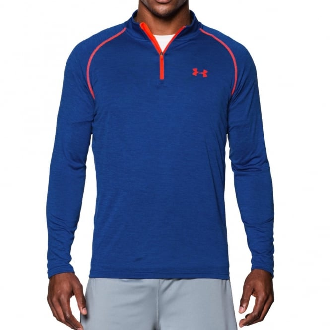 9725ada6c Under Armour Mens UA Tech 1/4 Zip Top Cobalt Twist - Mens from Great ...
