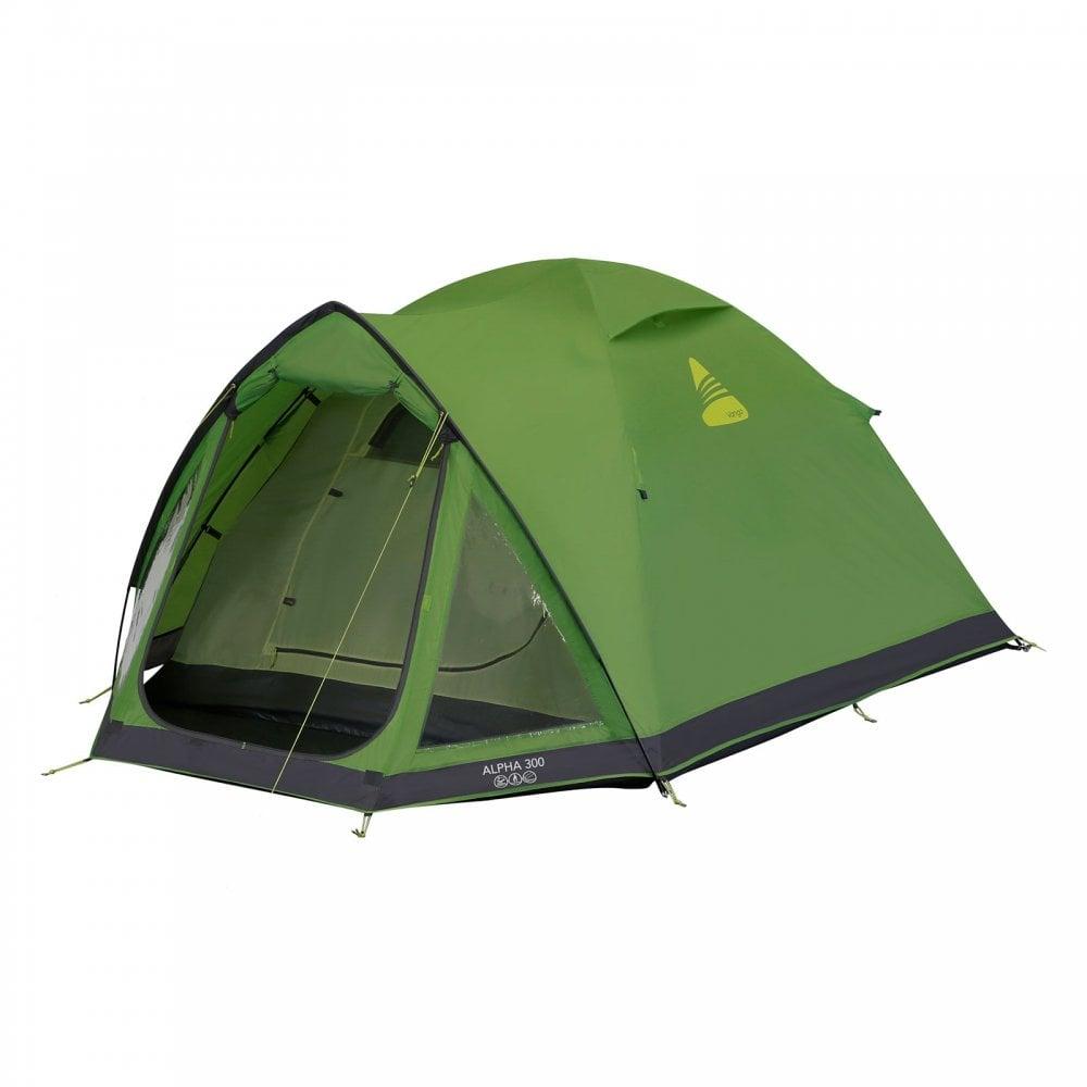 3 Person Tent Pamir Green Vango Nevis 300 Tent