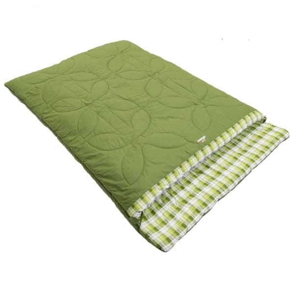 Vango Aurora Double Sleeping Bag Moss