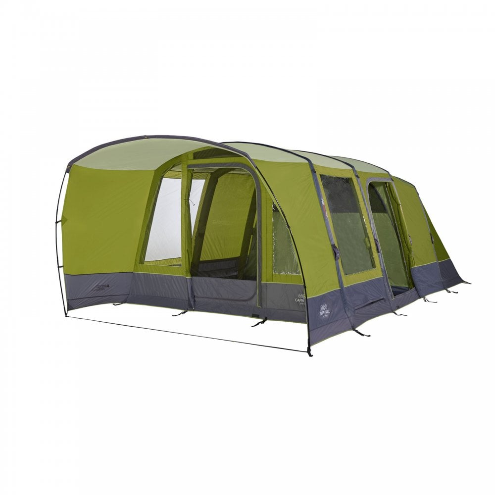 Treetops Family Tent with Large PVC Windows and Lights Out Bedrooms Vango Skye 500 5 Man Tent