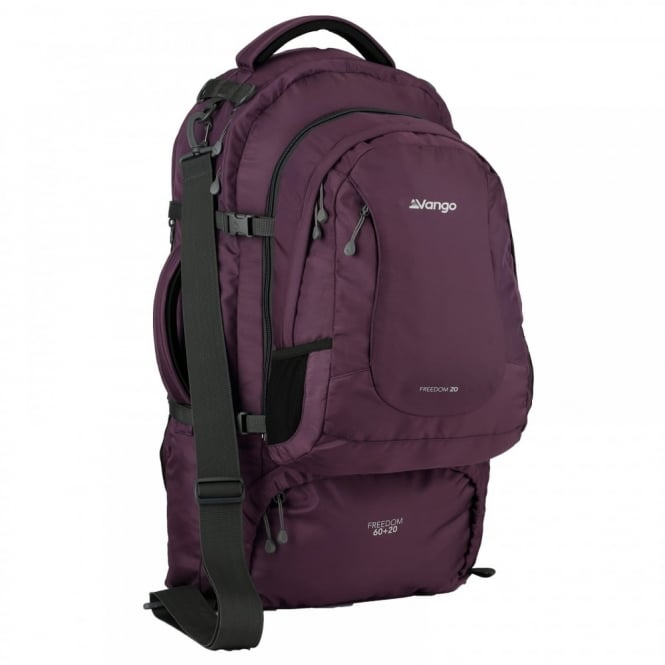 065c7e73eab Vango Freedom 60+20 Litre Rucksack Purple - Backpacks from Great ...