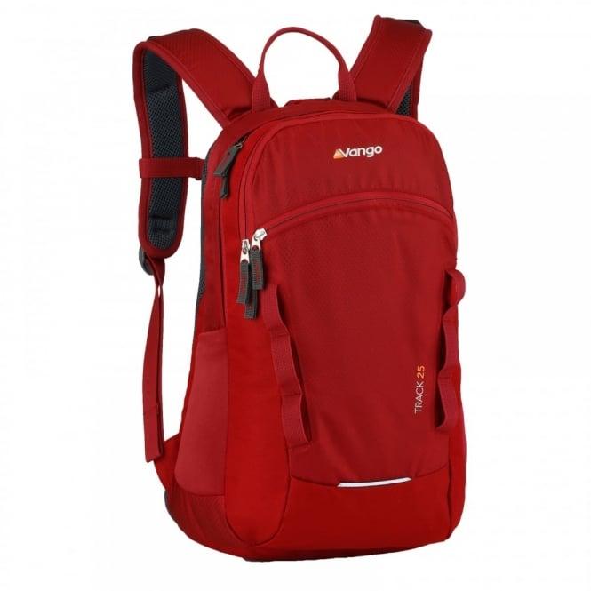 e0aee939ba8 Vango Track 25 Litre Rucksack Trail Red - Backpacks from Great ...