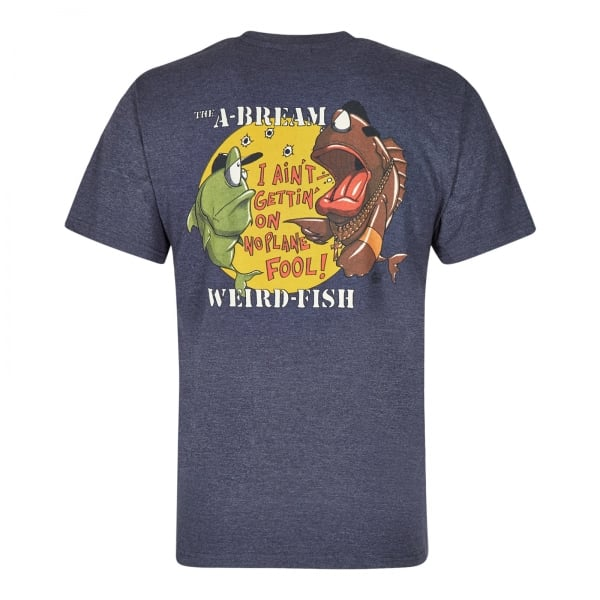 Weirdfish Mens A-Bream T-Shirt Navy - Mens from Great ...