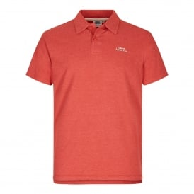 Mens Andy Polo Shirt Dark Red