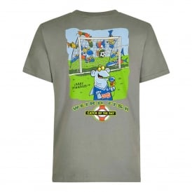 Mens Artist T-Shirt Catch of the Day Artichoke