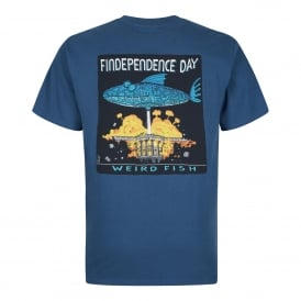 Mens Findependence Graphic T-Shirt Ensign