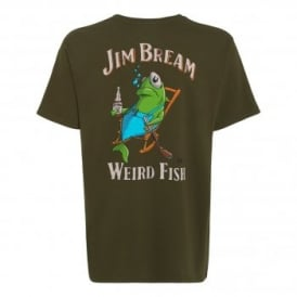 Mens Jim Bream T-Shirt Olive