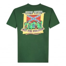 Mens Lynrd Finyrd Graphic T-Shirt Olive