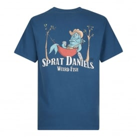 Mens Sprat Daniels Graphic T-Shirt Ensign