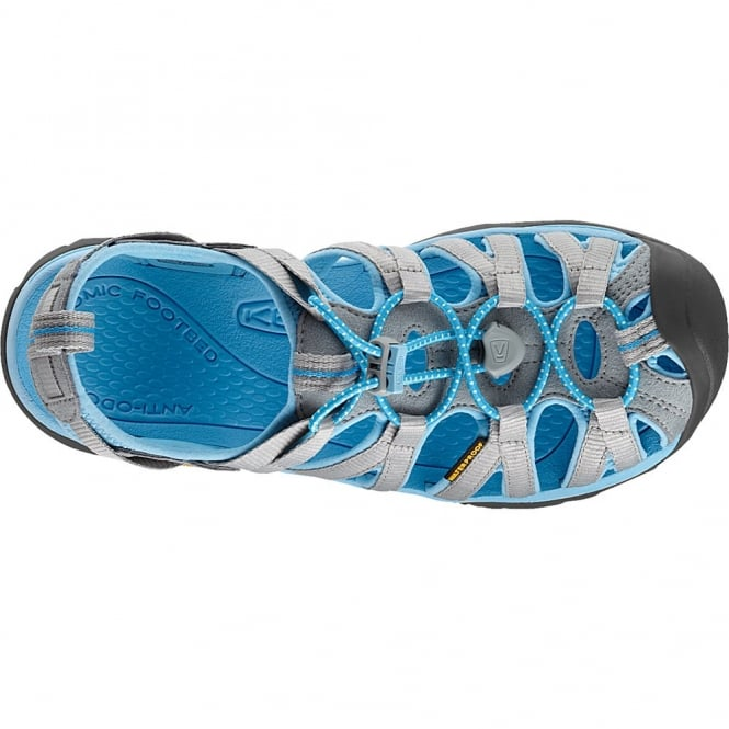 dd21eff21279 Keen Ladies Whisper Sandal Neutral Grey Alaskan Blue