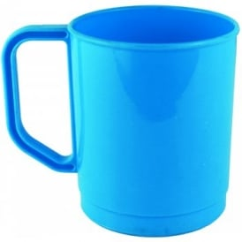 275ml Plastic Mug - Blue