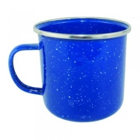 360ml Enamel Mug - Blue