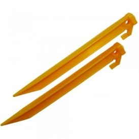 "9"" Yellow Plastic Power Peg 10"
