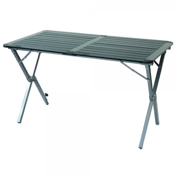 Yellowstone Aluminium Roll Top Double Table