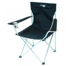 Executive Camping Chair Black